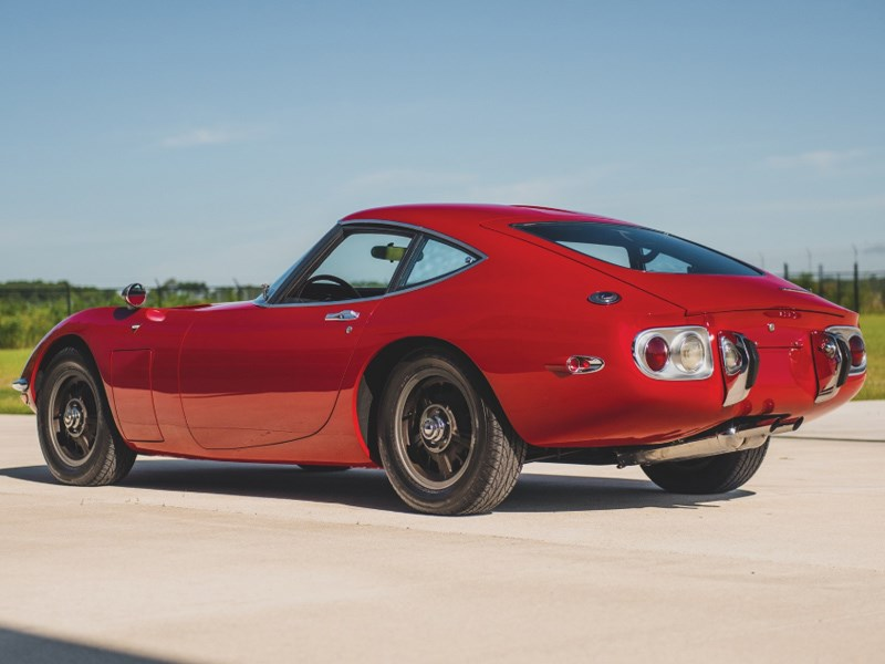 Toyota 2000GT for auction rear side