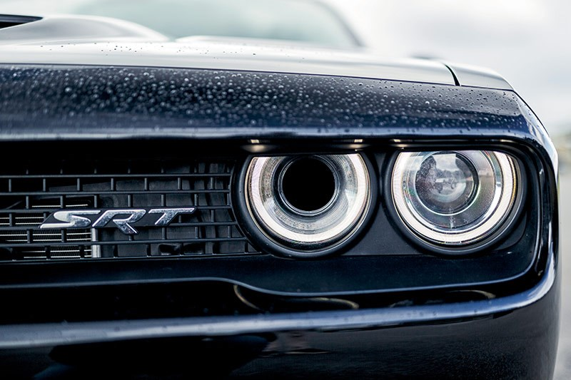 dodge hellcat headlight