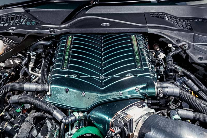 ford mustang engine bay 2