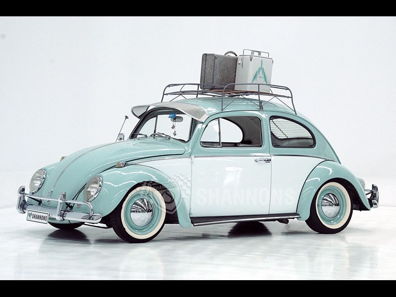 1964 volkswagen beetle 1200 twin port sedan