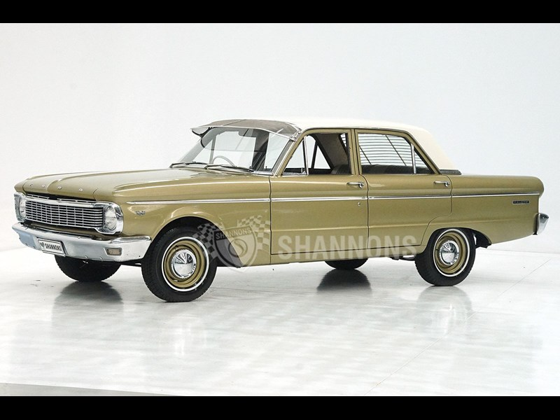 1966 ford falcon xp sedan