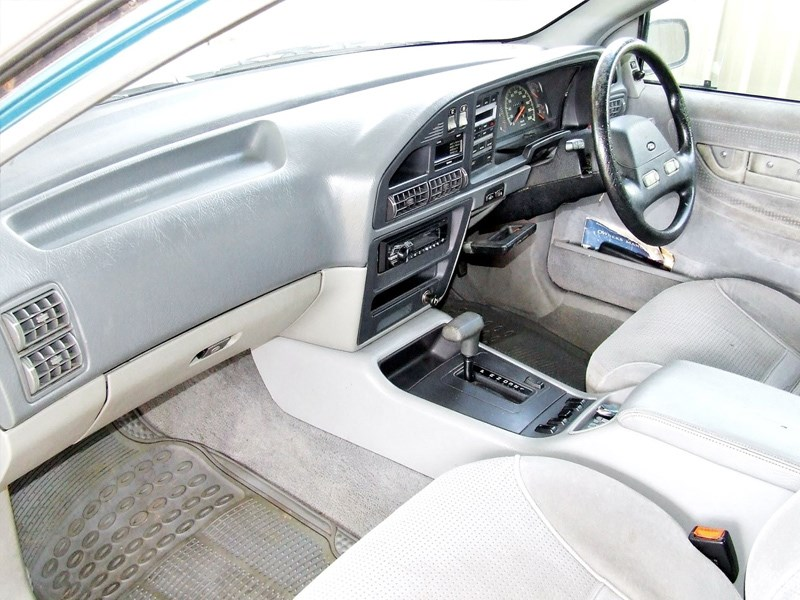 EB Fairmont wagon interior