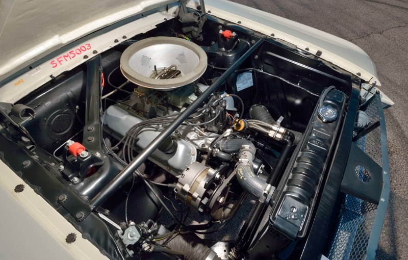 Ken Miles Shelby engine