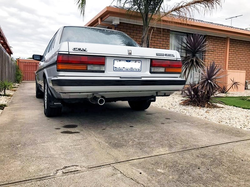 Toyota Cressida rear side