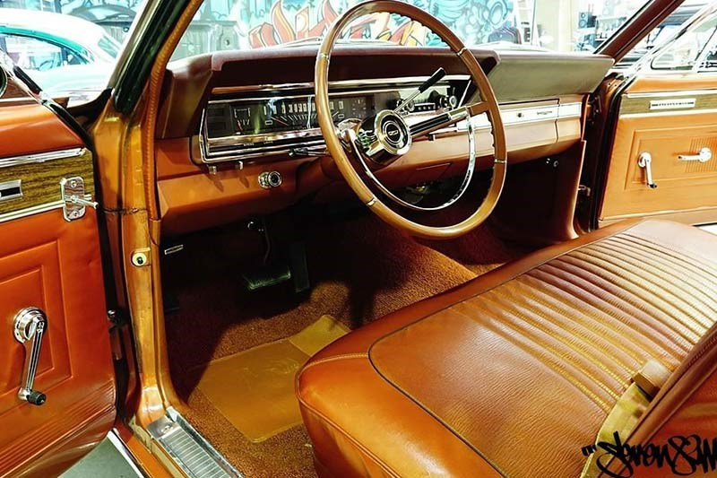 ford fairlane 500 interior