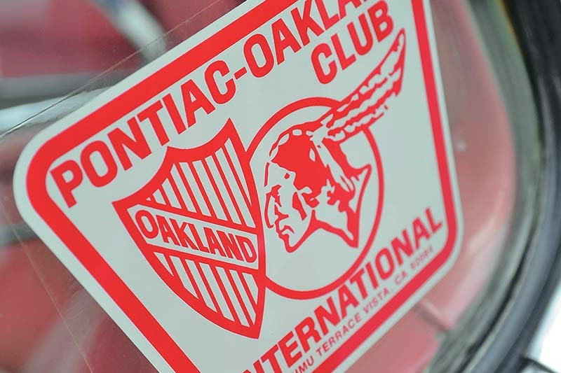 pontiac club sticker