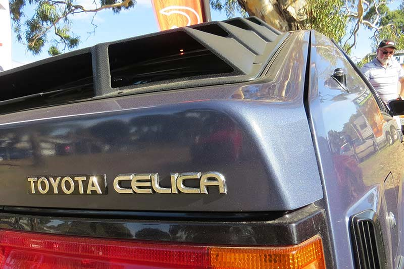 toyota celica badge