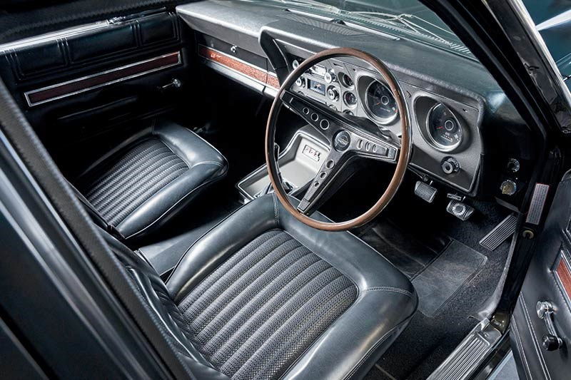 ford falcon xw gt interior