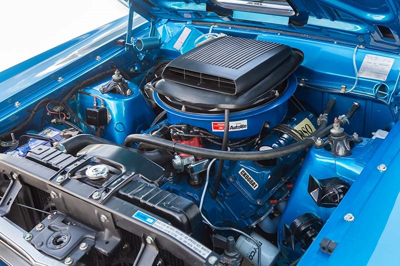 ford xy falcon gtho replica engine bay 4