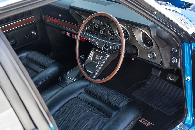 ford xy falcon gtho replica interior 3