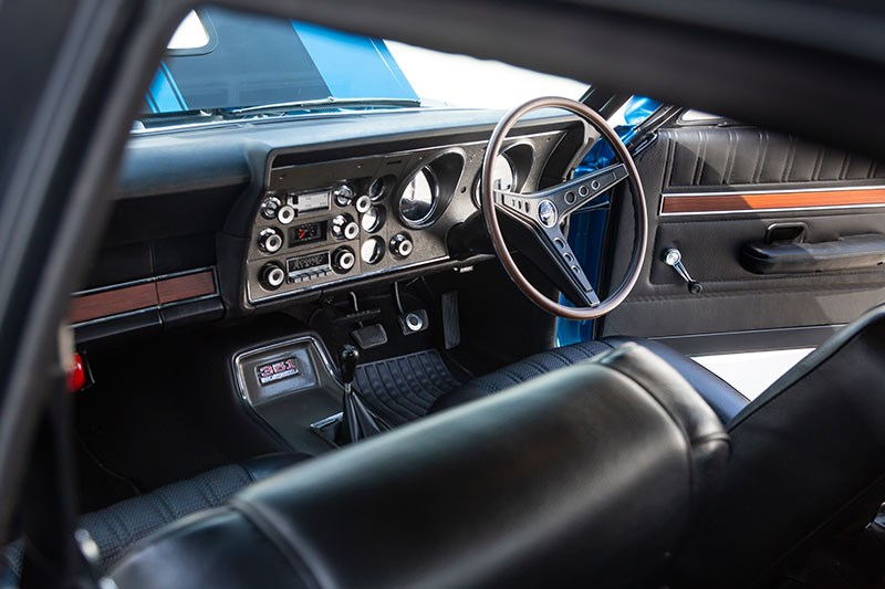 ford xy falcon gtho replica interior