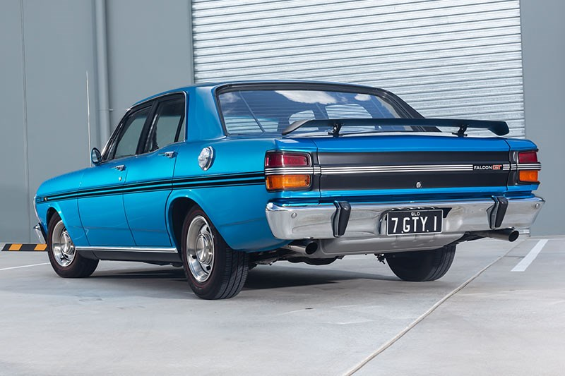 ford xy falcon gtho replica rear 2