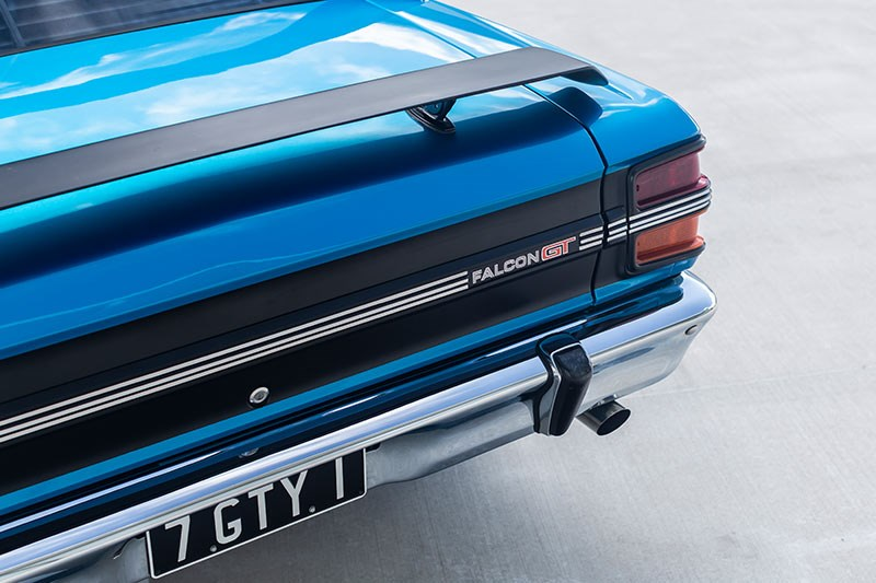 ford xy falcon gtho replica rear 3