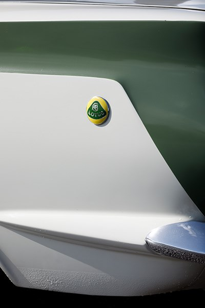 lotus cortina badge
