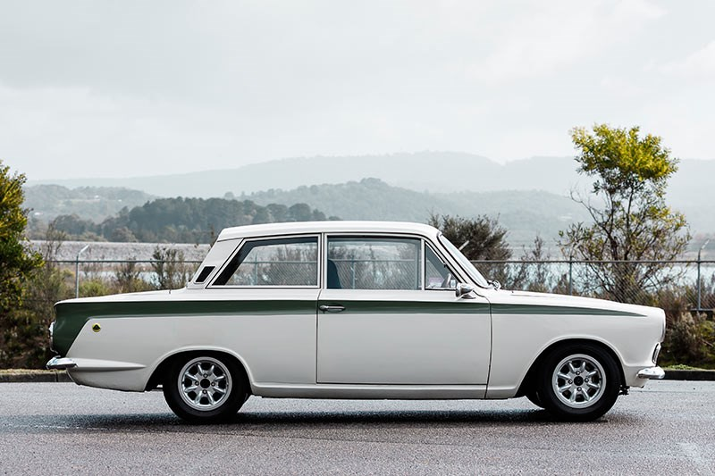 lotus cortina side