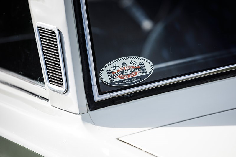 lotus cortina sticker