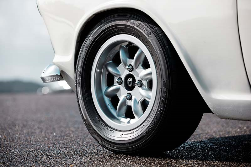 lotus cortina wheel