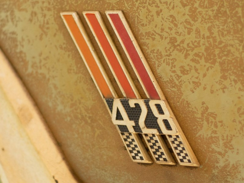 Country Squire Wagon 428 side badge
