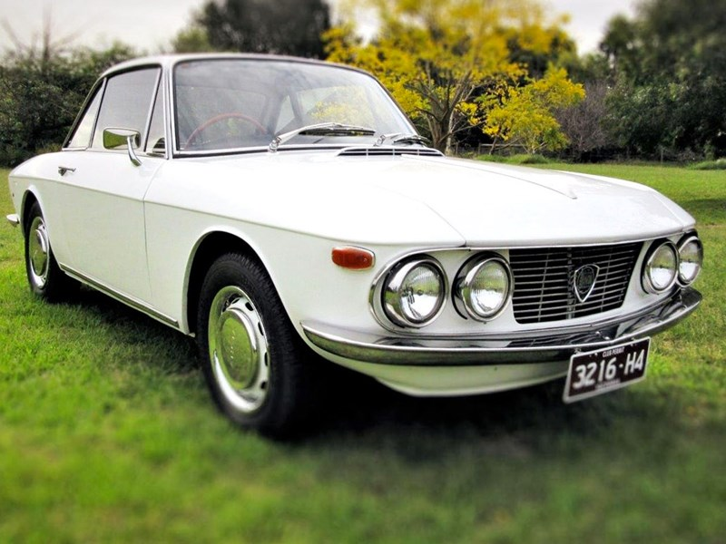 Lancia Fulvia front side
