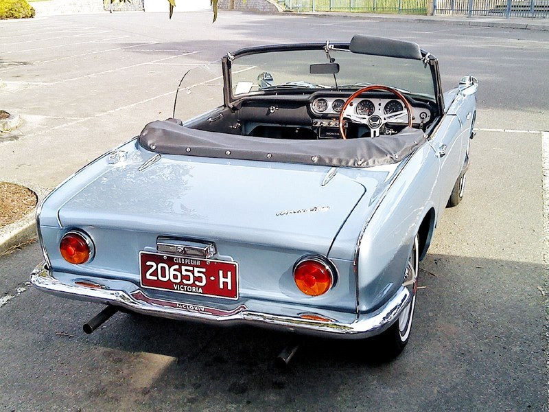 Honda S600 rear side