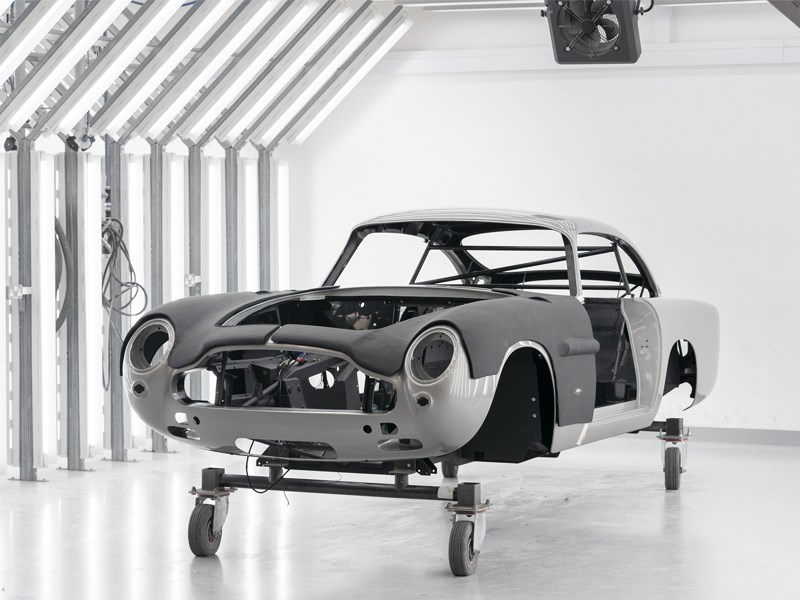 NEw DB5 front side