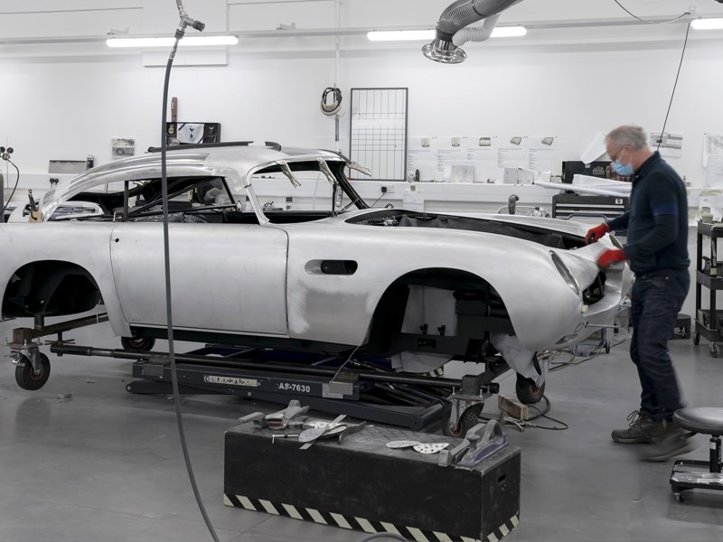 NEw DB5 production front