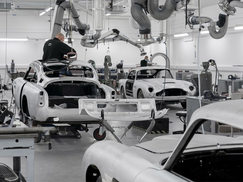 NEw DB5 production rear