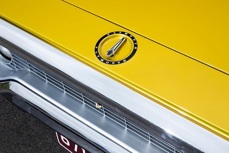 plymouth road runner detail