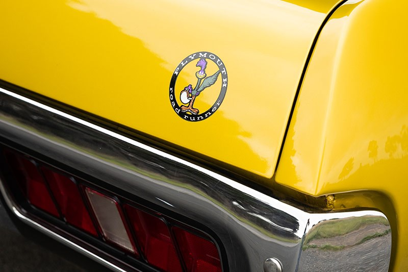 plymouth road runner sticker