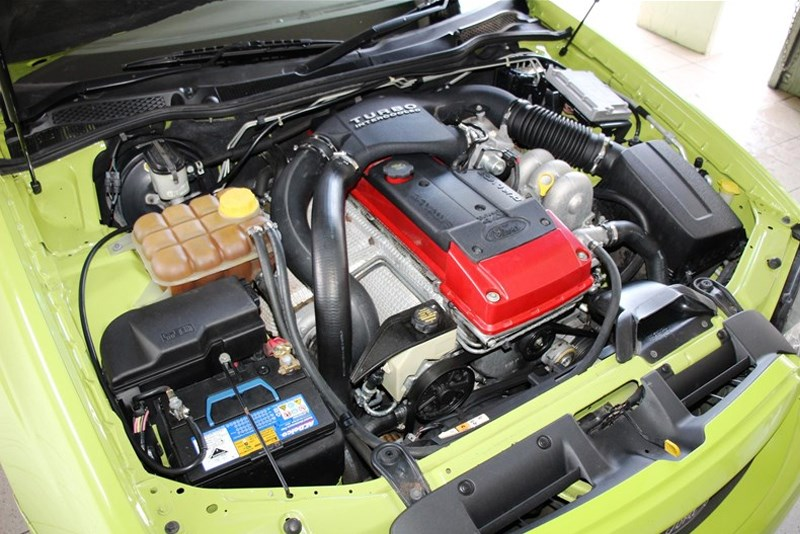 BA XR6T engine