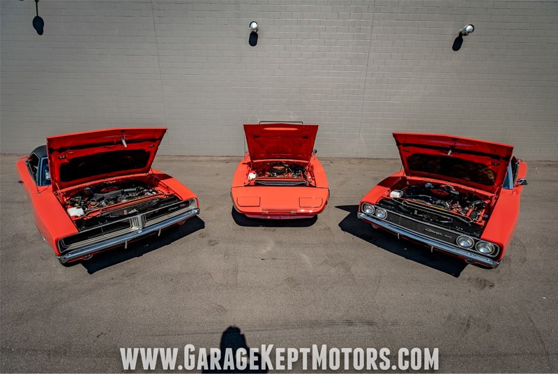 Charger set engines