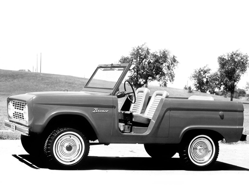 Ford Bronco History G1 roadster