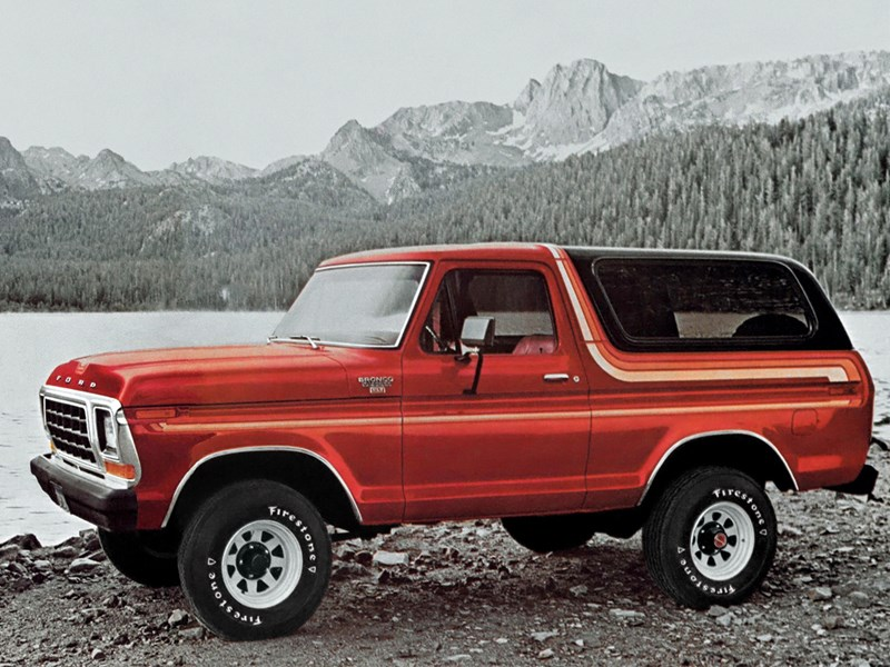 Ford Bronco History G2