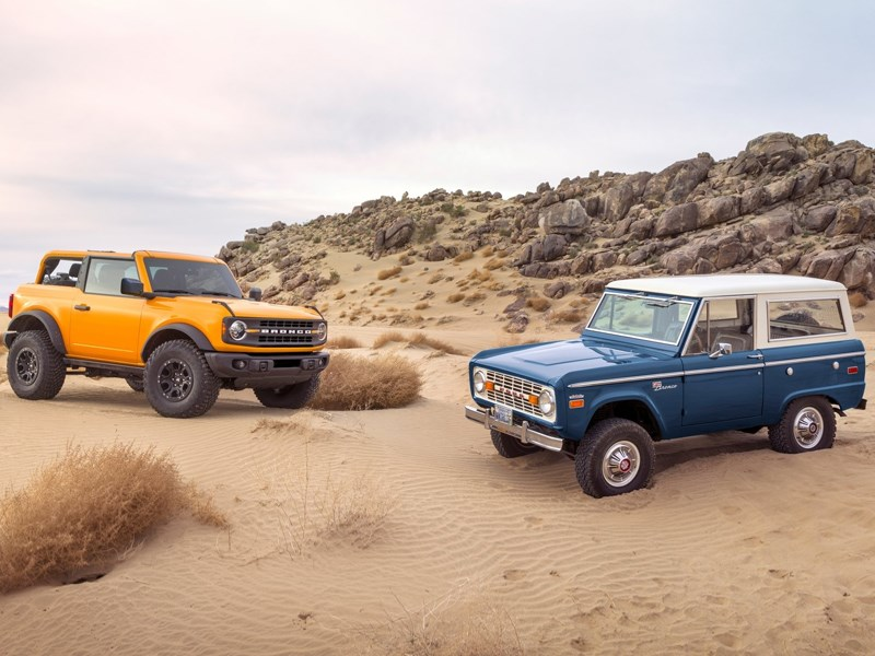 Ford Bronco History cover