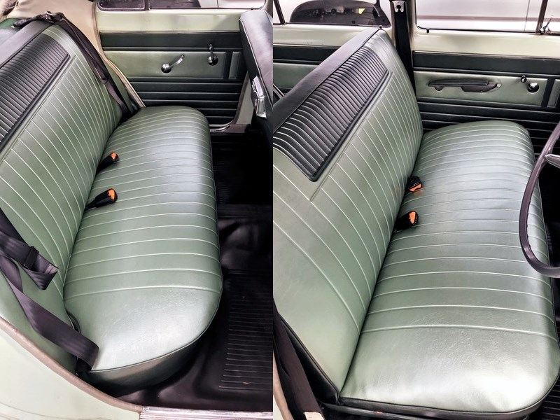 Holden EH Special seats