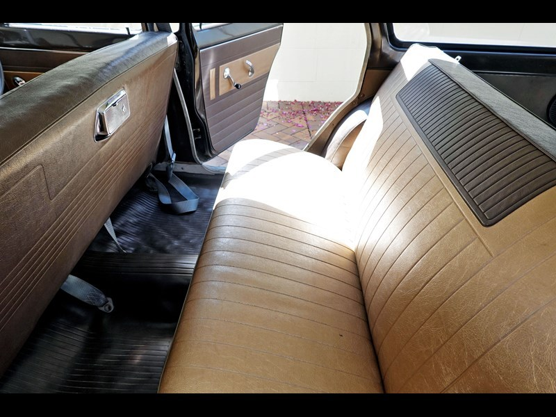 EH Special wagon interior rear