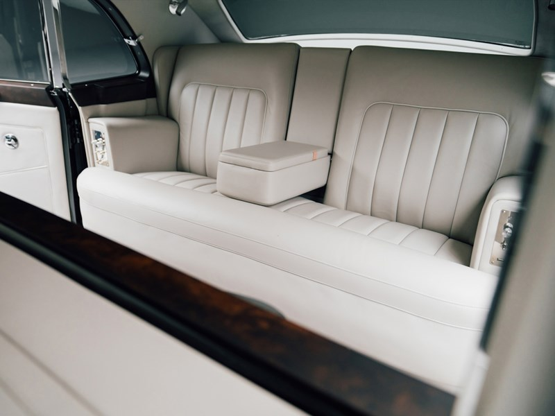 Electric Rolls Royce interior rear