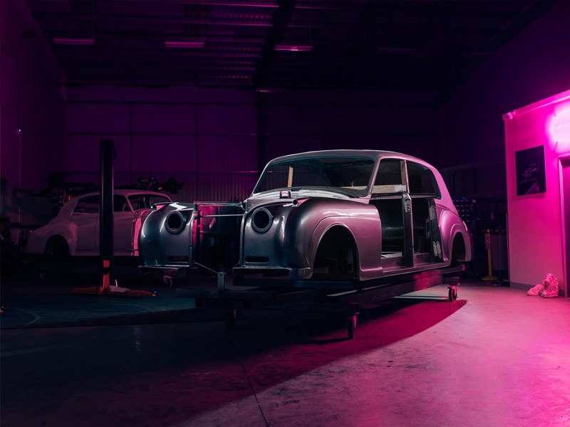 Electric Rolls Royce restoration