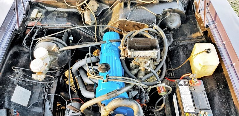 Ford Cortina TC engine