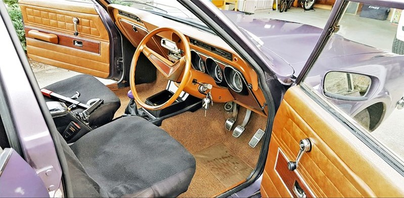 Ford Cortina TC interior