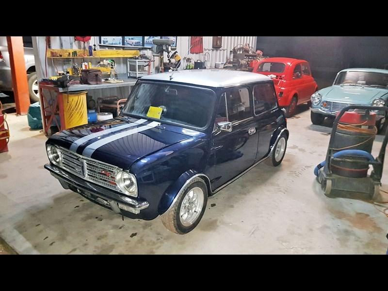 Mini Clubman gt front side