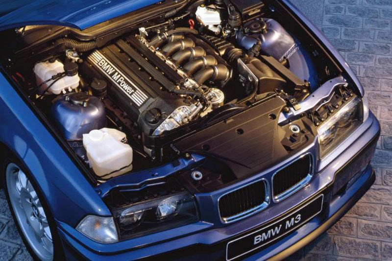 bmw e36 m3 engine bay