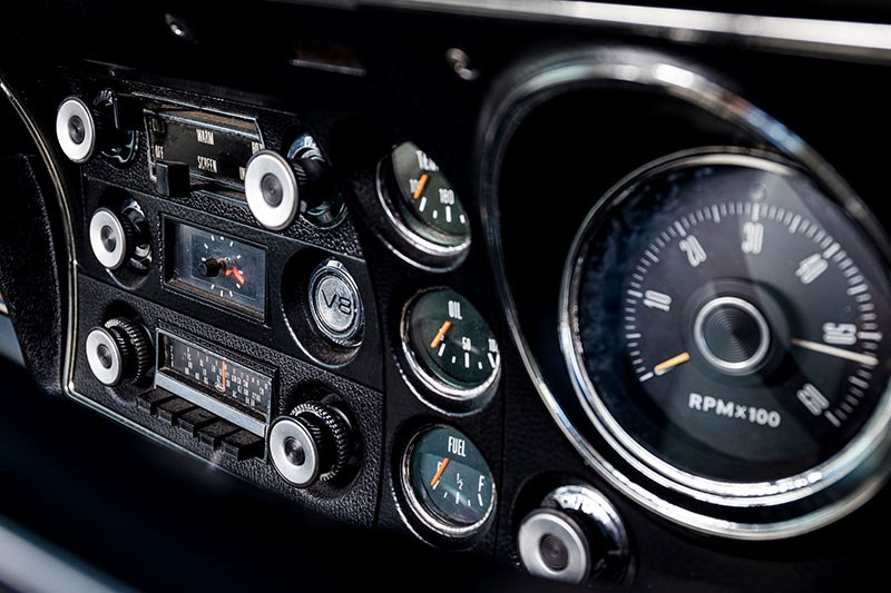 ford xy falcon van dash
