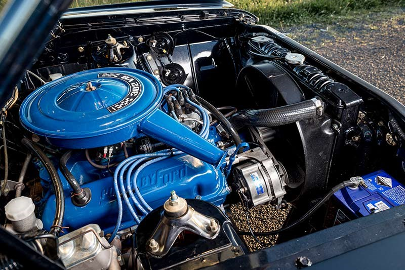 ford xy falcon van engine bay 3