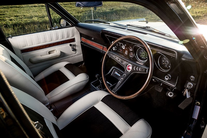 ford xy falcon van interior