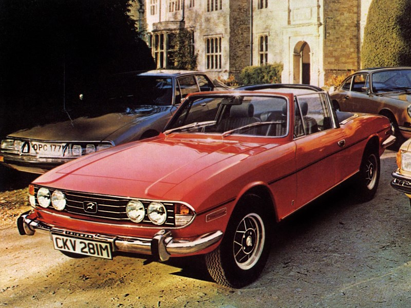 70 years of Triumph Stag