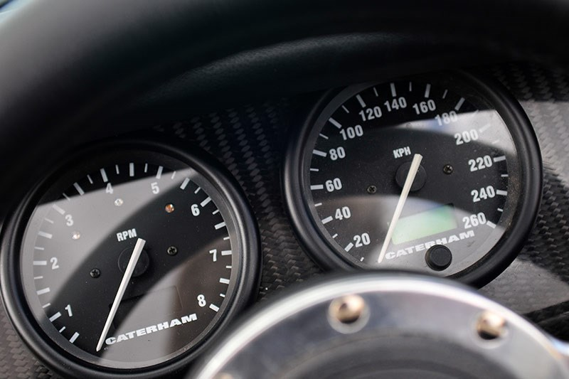 caterham gauges