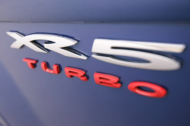 ford xr5 turbo badge