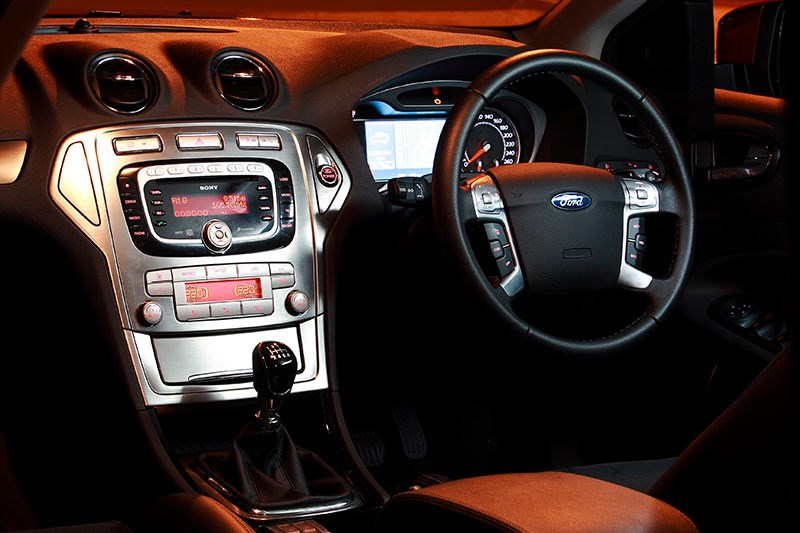 ford xr5 turbo console