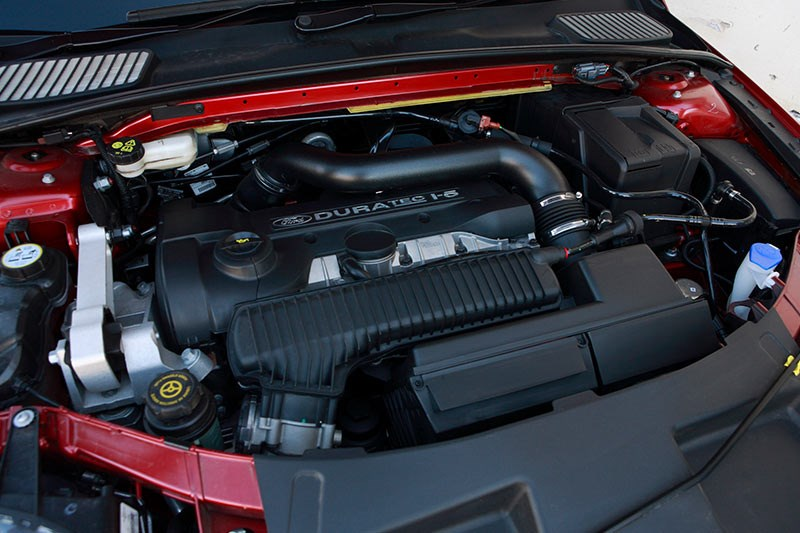 ford xr5 turbo engine bay